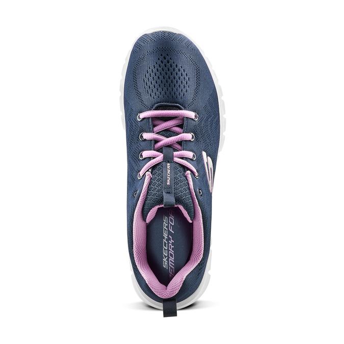 Chaussures Femme skechers, Bleu, 509-9318 - 15