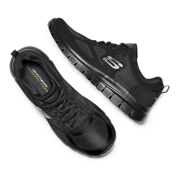 SKECHERS Chaussures Homme, Noir, 809-6805 - 26