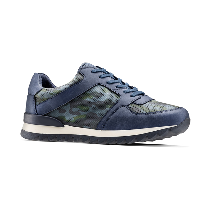 Men's shoes bata, Bleu, 841-9479 - 13