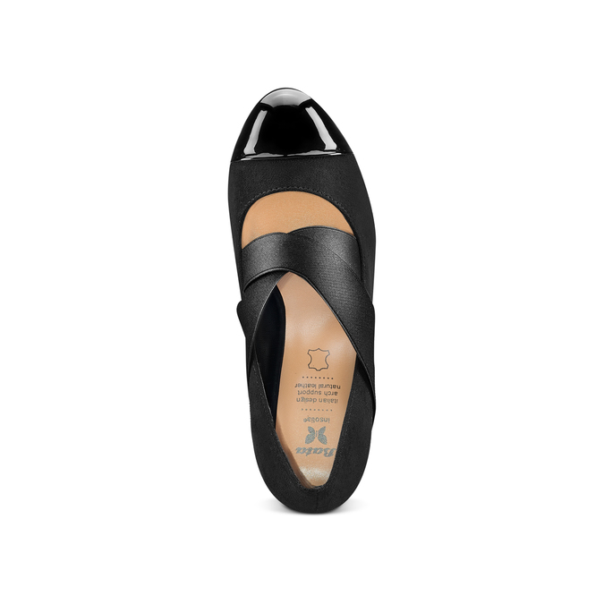Women's shoes insolia, Noir, 729-6174 - 17