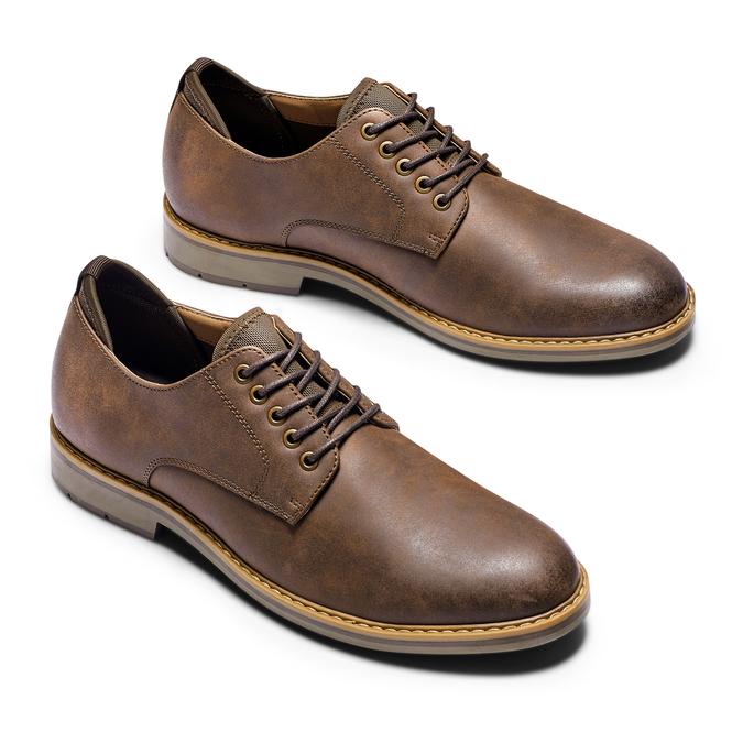Men's shoes bata-rl, Brun, 821-4471 - 26