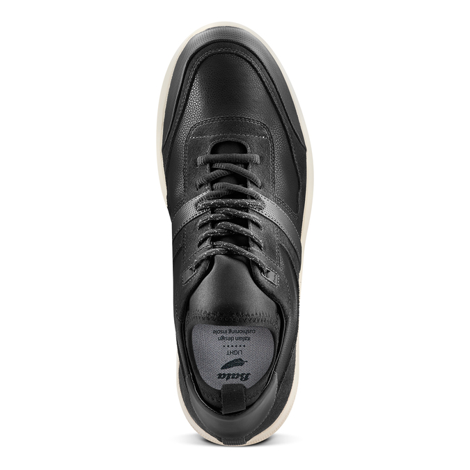 Men's shoes bata-light, Noir, 843-6418 - 17