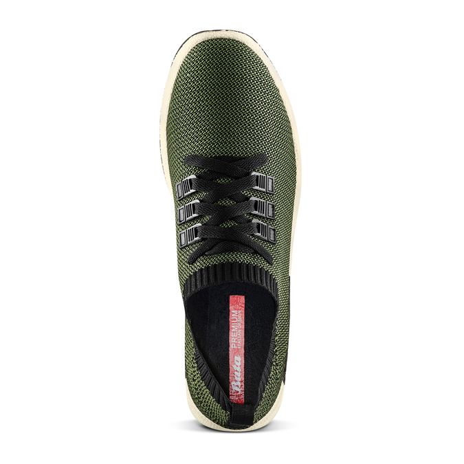 Men's shoes bata, Vert, 839-7147 - 17