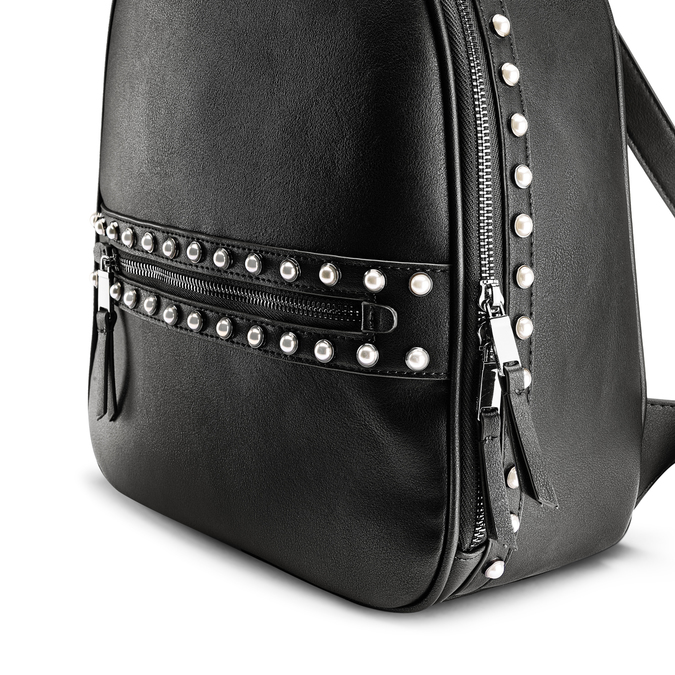 Backpack bata, Noir, 961-6201 - 15