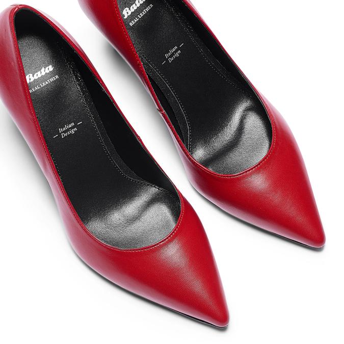 Women's shoes bata, Rouge, 724-5151 - 26