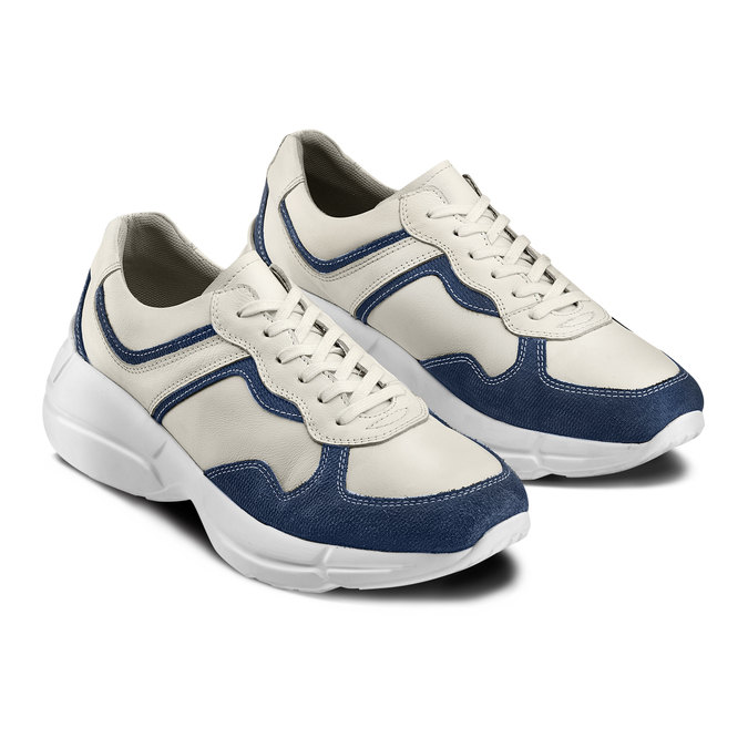 Men's shoes bata, Bleu, 824-9362 - 16