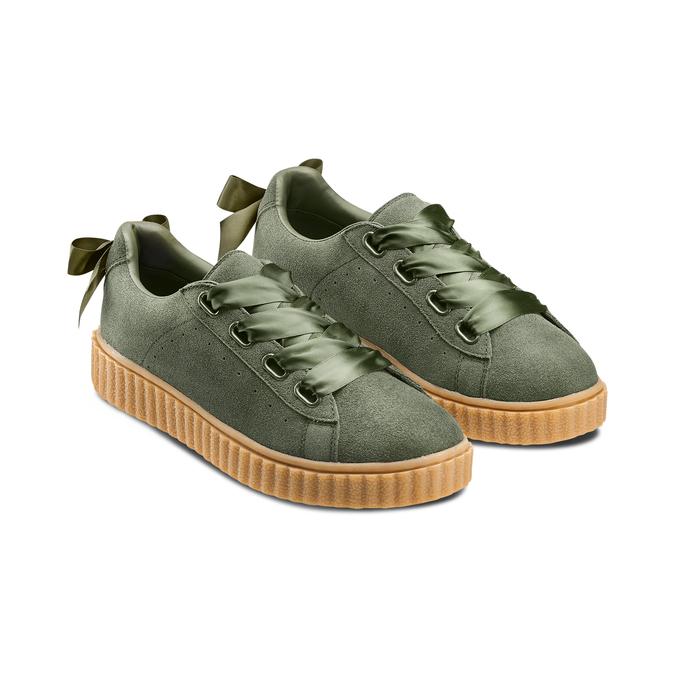 BATA Chaussures Femme bata, Vert, 543-7415 - 16
