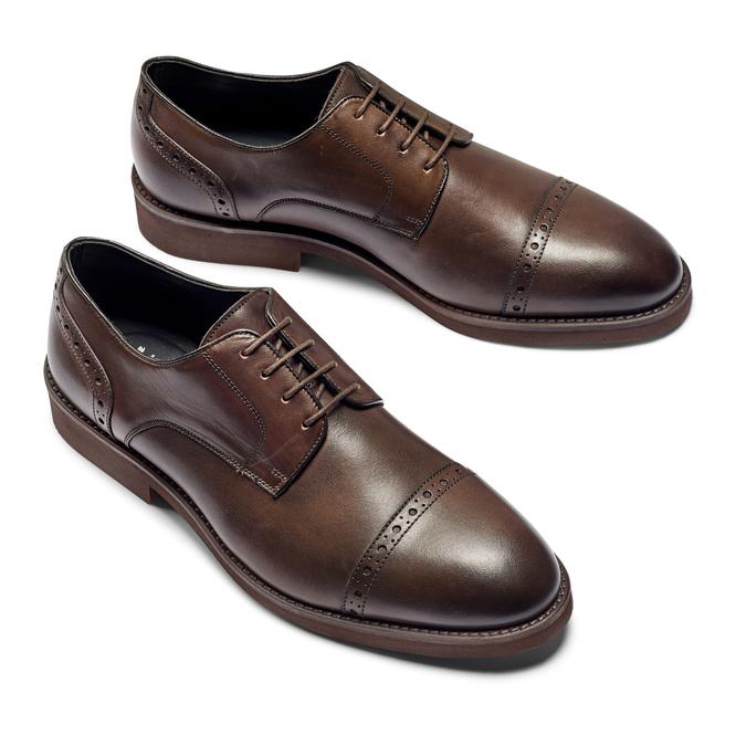 Men's shoes bata, Brun, 824-4513 - 26