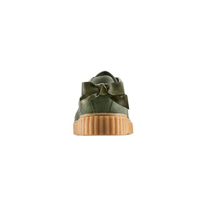 Women's shoes bata, Vert, 543-7415 - 15