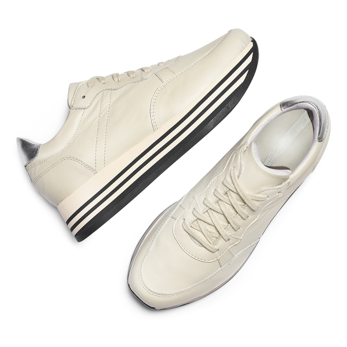 BATA Chaussures Femme bata, Blanc, 644-8103 - 26