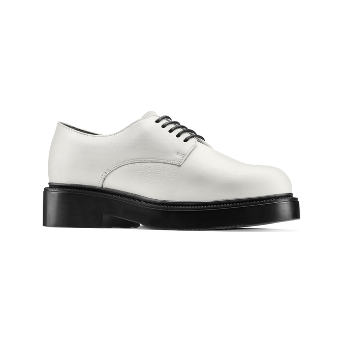Women's shoes bata, Blanc, 524-1537 - 13
