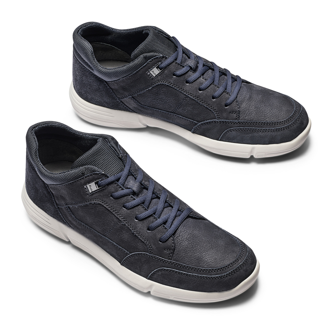 Men's Shoes bata-light, Bleu, 844-9419 - 26