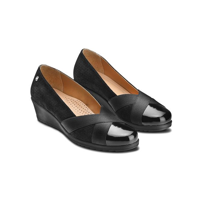 Women's shoes, Noir, 613-6134 - 16