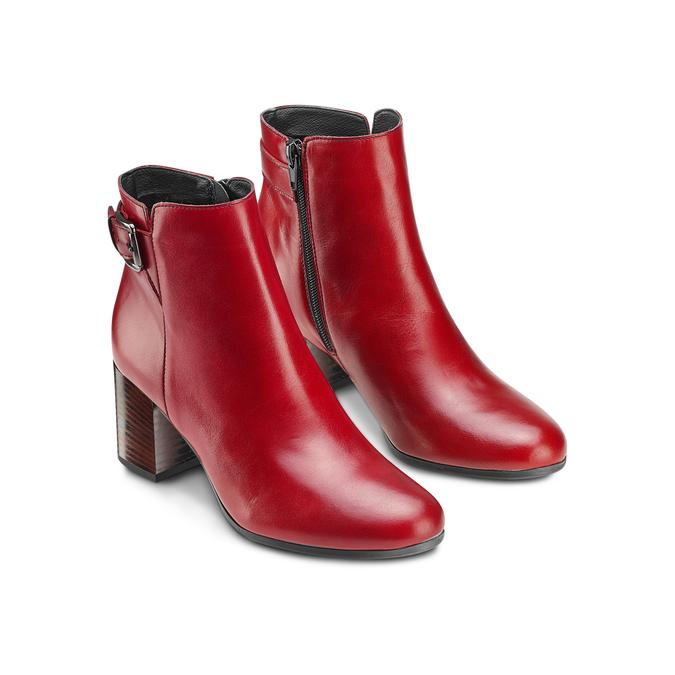 Women's shoes bata, Rouge, 794-5455 - 16