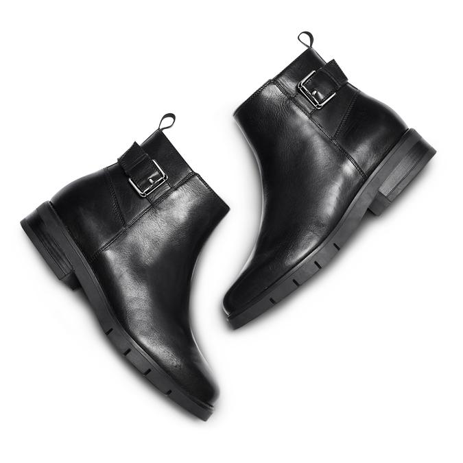 Women's shoes flexible, Noir, 594-6158 - 26