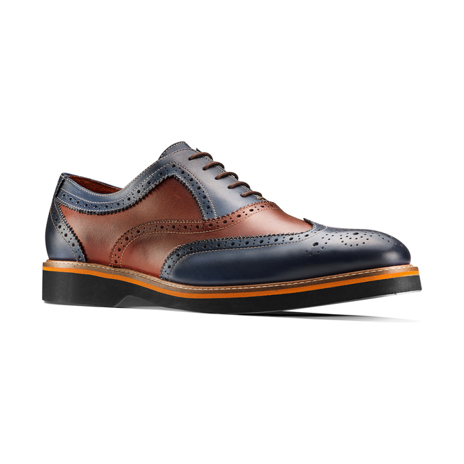 Men's shoes bata-the-shoemaker, Bleu, 824-9364 - 13