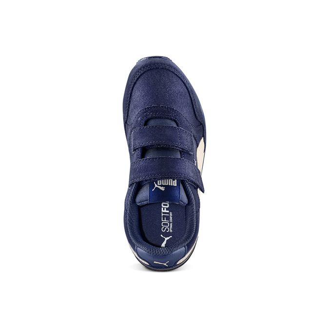 CHILDRENS SHOES puma, Bleu, 303-9227 - 17
