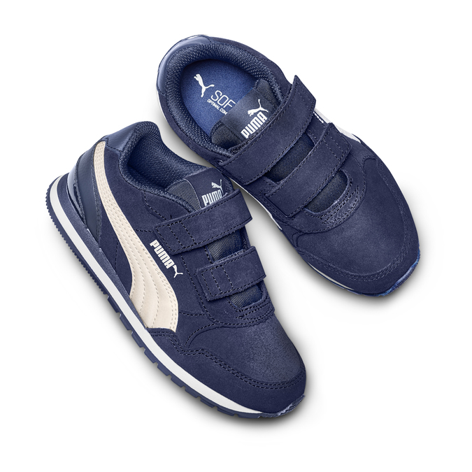 CHILDRENS SHOES puma, Bleu, 303-9227 - 26