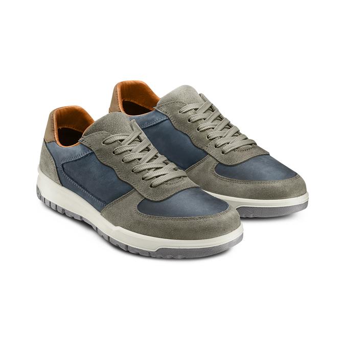 BATA Chaussures Homme bata, Bleu, 846-9499 - 16