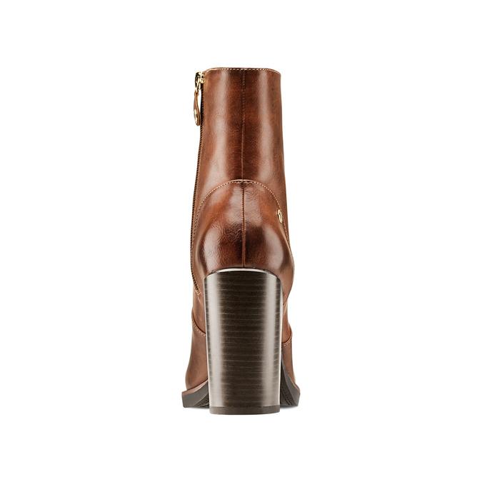 Women's shoes insolia, Jaune, 791-8258 - 15