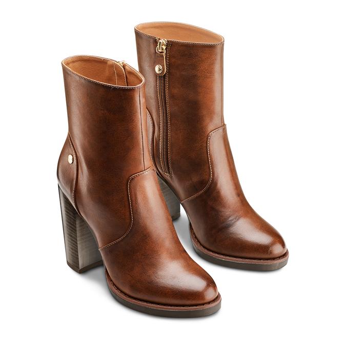 Women's shoes insolia, Jaune, 791-8258 - 16
