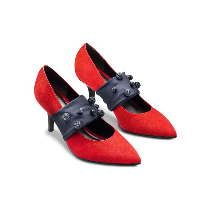 BATA B FLEX Chaussures Femme bata-b-flex, Rouge, 729-5184 - 16
