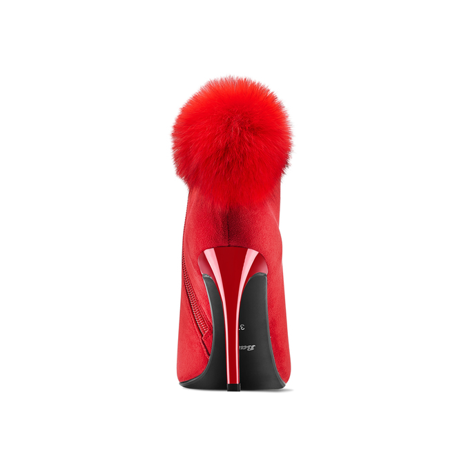 Women's shoes bata, Rouge, 799-5438 - 15