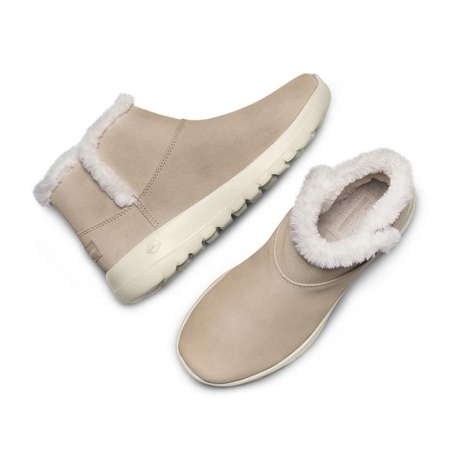 Chaussures Femme skechers, Beige, 503-8124 - 26