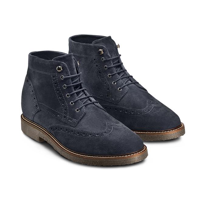 Men's shoes bata, Bleu, 823-9575 - 16