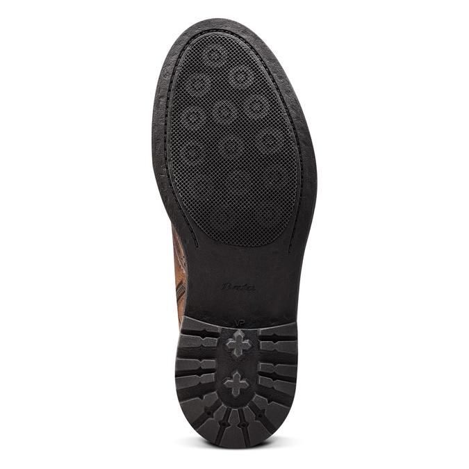 Men's shoes bata, Brun, 893-3294 - 19