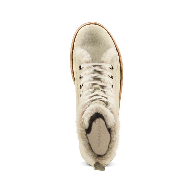 Women's shoes weinbrenner, Blanc, 594-1971 - 17