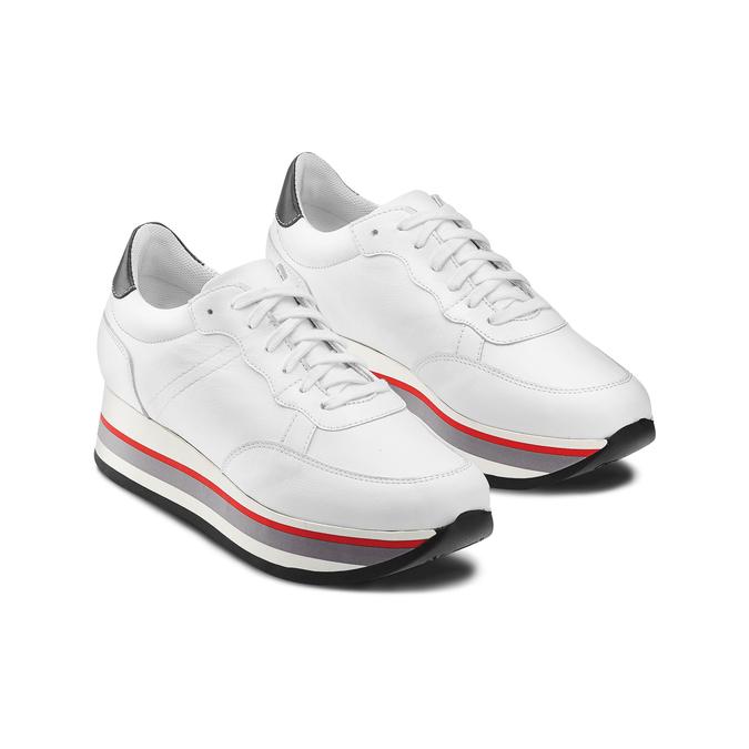 BATA Chaussures Femme bata, Blanc, 644-1102 - 16