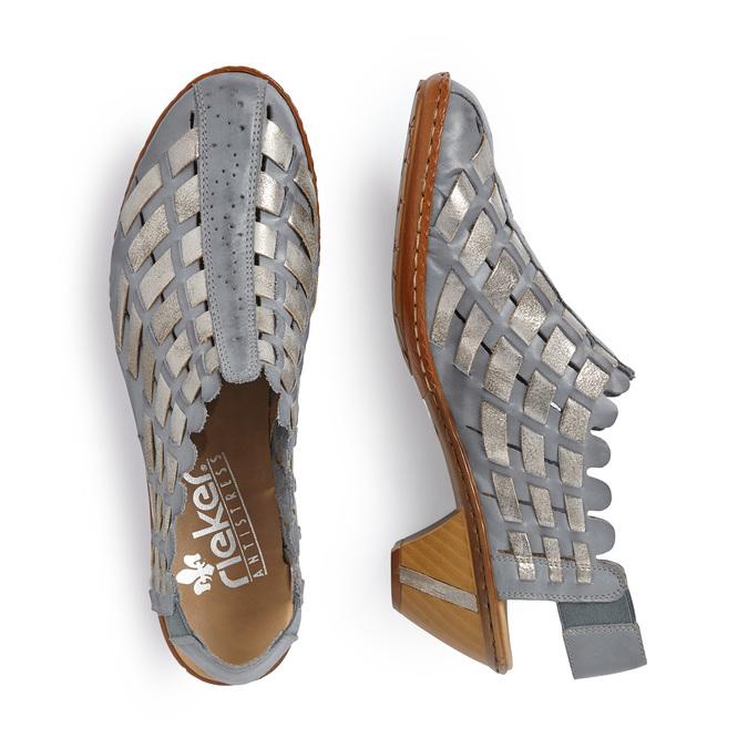 RIEKER Chaussures Femme rieker, Bleu, 624-9188 - 16