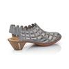 RIEKER Chaussures Femme rieker, Bleu, 624-9188 - 15