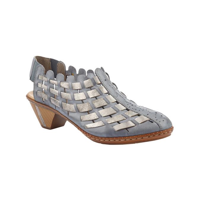 RIEKER Chaussures Femme rieker, Bleu, 624-9188 - 13