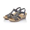 RIEKER Chaussures Femme rieker, Bleu, 661-9331 - 26