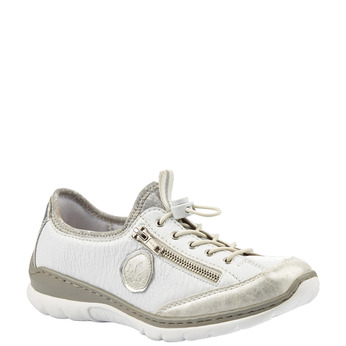 Rieker women's shoes rieker, Blanc, 541-1349 - 13