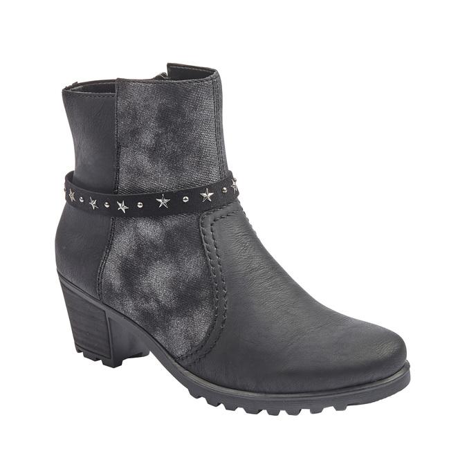 RIEKER Chaussures Femme rieker, Noir, 591-6446 - 13