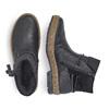RIEKER Chaussures Femme rieker, Noir, 594-6242 - 16