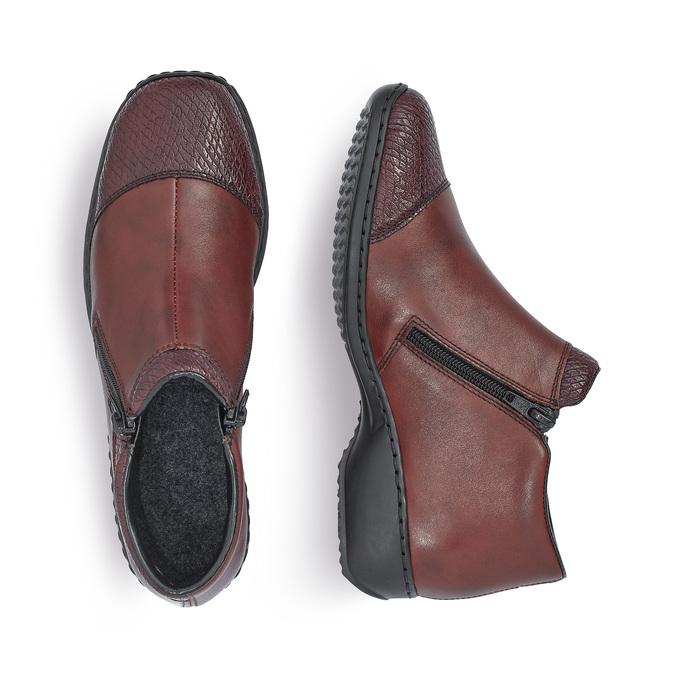 RIEKER Chaussures Femme rieker, Rouge, 594-5318 - 16