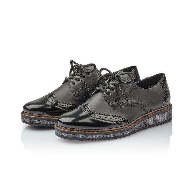 RIEKER Chaussures Femme rieker, Noir, 521-6129 - 26