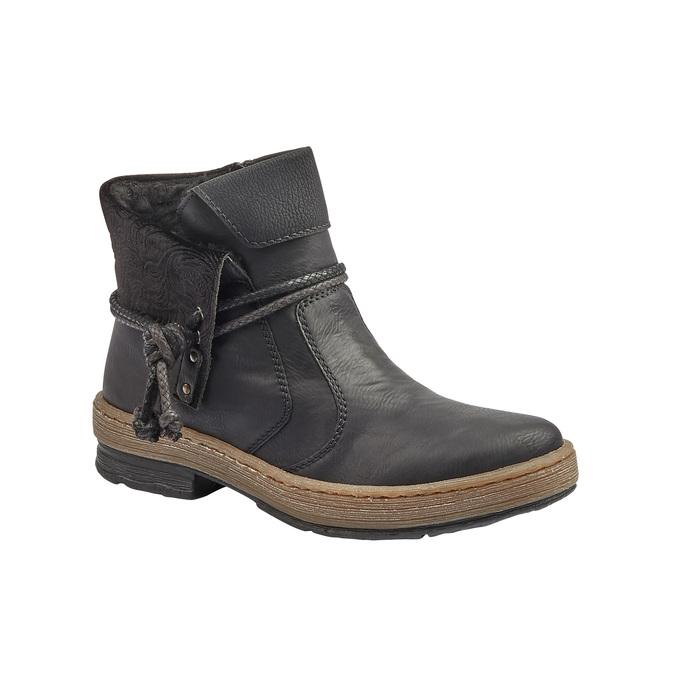 RIEKER Chaussures Femme rieker, Noir, 594-6242 - 13