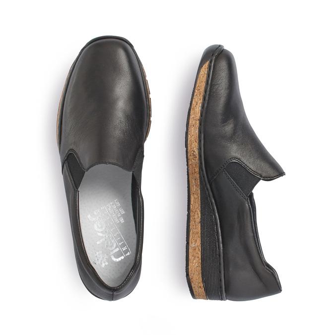 RIEKER Chaussures Femme rieker, Noir, 514-6201 - 16