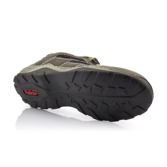 Rieker men's shoes rieker, Gris, 841-2397 - 17