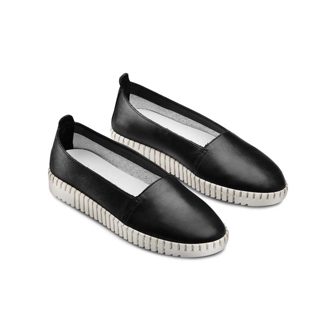BATA Chaussures Femme bata-touch-me, Noir, 514-6241 - 16