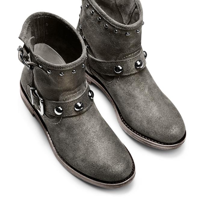 BATA Chaussures Femme bata, Gris, 593-2688 - 17