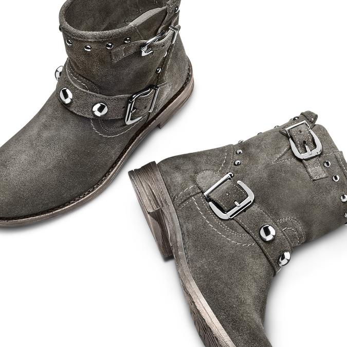 BATA Chaussures Femme bata, Gris, 593-2688 - 26