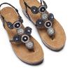 BATA Chaussures Femme bata, Noir, 661-6357 - 26