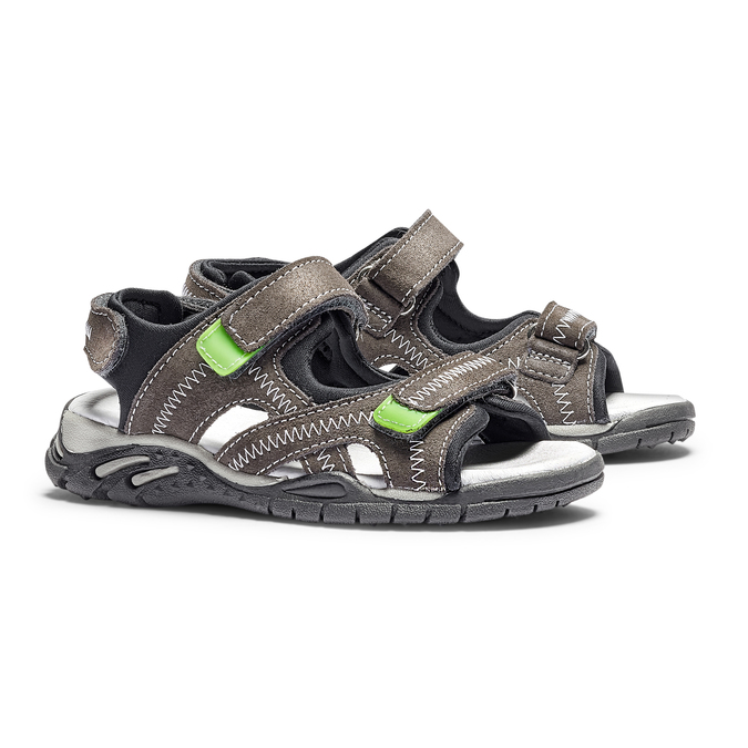 Childrens shoes mini-b, Gris, 363-2244 - 26
