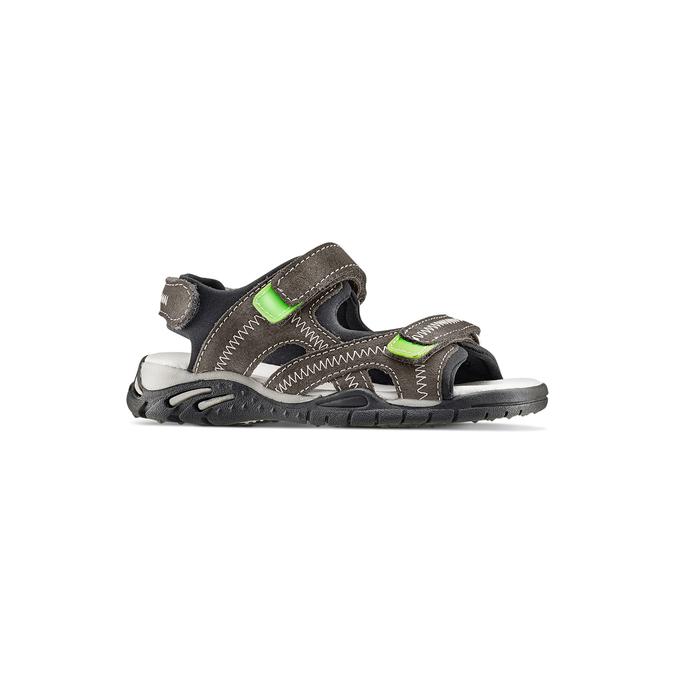 Childrens shoes mini-b, Gris, 363-2244 - 13